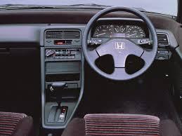 Honda Civic CRX (1987). | Dashboards | Pinterest | Honda civic ...