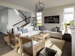 modern farmhouse living dining room