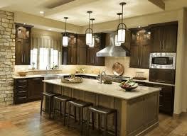 beautiful dark kitchens. Beautiful Dark Kitchen Cabinets With Light Island Taste Kitchens