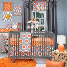 modern baby girl nursery ideas brown purple fl bedding set red foam single sofa beige wool
