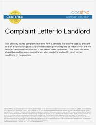 Beautiful Complaint Letter To Landlord About Repair Cp16 In
