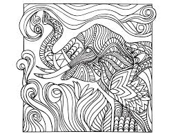 Zen And Anti Stress Coloring Pages For Adults For Teenagers Free