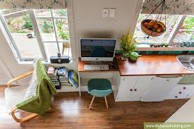 tiny house office. perfect house tiny house office excellent 15 pictures life in our trailer  one year on and f