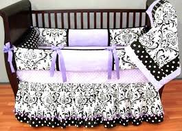dark purple baby bedding sets large size of and lavender crib set on white stained wooden purple nursery and white crib bedding black