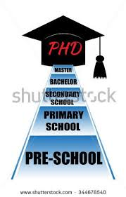 Phd Stock Photos  Royalty Free Images  amp  Vectors   Shutterstock Educational stages that person have to get through to earn a doctor philosophy degree  From