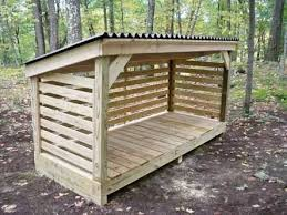 Shed Plans - firewood storage rack pallets - Google Search More - Now You  Can Build