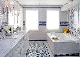 remarkable moroccan bathroom tiles inside blue mosaic tile in cape cod interior