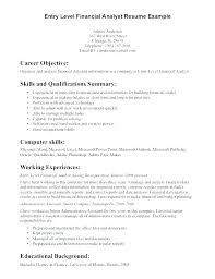 Actuary Resume Inspiration Actuarial Resume Example Entry Entry Level Actuarial Resume Example