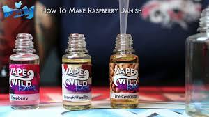 Vape Wild Diy Chart How To Make Your Own Raspberry Danish E Liquid Vapewild Diy