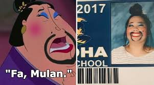 Photo Time Girl All Of Senior The Takes With Makeup 'mulan' Best
