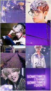 Bts V Purple Wallpaper