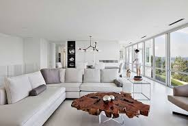 round walnut coffee table 30 live edge coffee tables that transform the living room