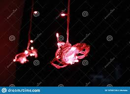 Frog Lights Led Hanging Red Light From Led Bulb To Beautiful Bokeh