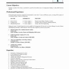 Objective Resume Samples Sample Resume Objectives For Part Time Job Fresh Sample Resume For 72
