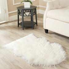 fake sheepskin rug uk