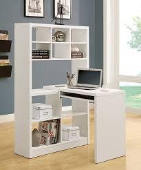 white corner office desk. monarch specialties white twoinone corner office desk