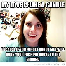 My Love Is Like A Candle | Funny As Duck | Funny Pictures via Relatably.com