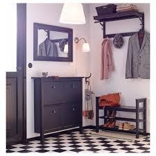 Ikea Hemnes Coat Rack HEMNES Hat rack Blackbrown 100 cm IKEA 10