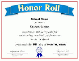 Sample Certificate Of Recognition For Honor Students Affordable