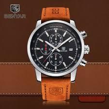 BENYAR Sport Men Watch Top Brand Luxury Men Leather ... - Vova