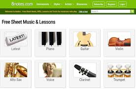 8notes Piano Chord Chart Top 7 Sites To Find And Print Free Sheet Music