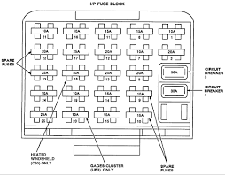 buick blower a diagram to locate this relay i owners manual there are several fuses that could be the problem fuse 11 15a and fuse 17 25a here is a pic of the fuse panel
