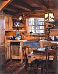 cabin kitchen ideas. Small Cabin Kitchen Log Cabinets Kitchens Creative Of Rustic Ideas .