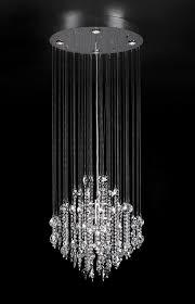 oval shape hanging crystal lamp 3d model max obj 3ds 1