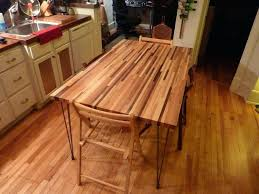 butcher block dining table. Butcher Block Wood Type Multi Scrap Dining Table A