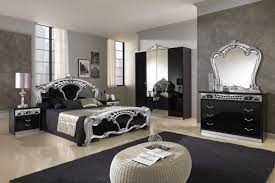 black and silver furniture. classic black silver bedroom decoration and furniture design b