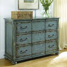 6 Drawer Distressed Chest by Hammary Distressed Furniture for