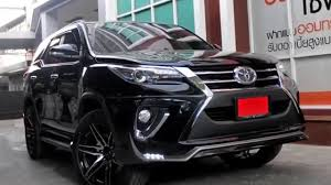 All New 2016 Toyota Fortuner Family SUV - YouTube