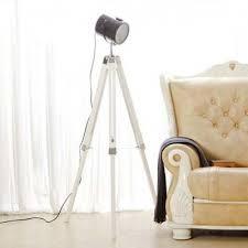 floor lighting 1. Chic 1 Light Tripod LED Floor Lamp In Industrial Style With Black Shade 55\u0027\u0027 Lighting
