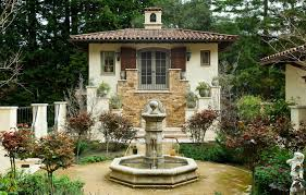 outdoor fountains styles beautiful 19 spanish style outdoor fountains