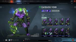 thought i should share my favourite faceless void mixed set