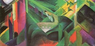 franz marc reh im klostergarten 1912 oil on canvas galleryintell