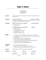 Landscaping Resume Examples Skills For Landscaping Resume Resume For Study 80
