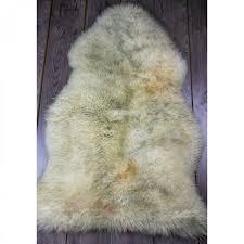 ugg sheepskin area rug barley