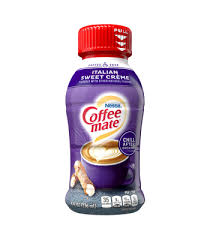 Man, i can't believe how many of these creamers don't even have any. Italian Sweet Creme Coffee Creamer Liquid Coffee Mate