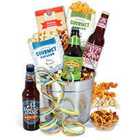 beer gift basket for men microbrew
