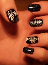 New Year's Eve Nail Art by Lyralein on DeviantArt