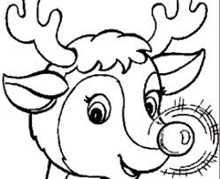 Small Picture Holidays Christmas Christmas Themes Reindeer Reindeer Colouring