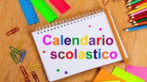Risultati immagini per calendario scolastico 2019-20