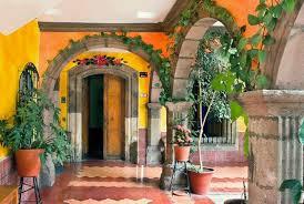 spanish style patio inspiration