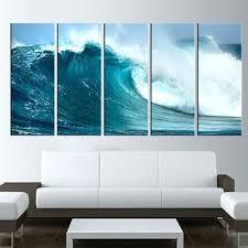 ocean canvas wall art ocean wave canvas art print sea wall art large canvas print extra  on extra large ocean wall art with ocean canvas wall art piece purple ocean trend purple canvas wall