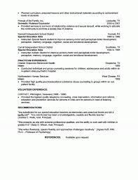 Special Education Teacher Resume Nice Special Ed Teacher Resume Examples Images Example Resume 79