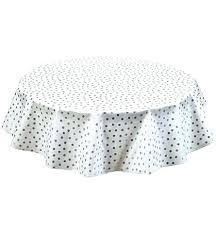 round oilcloth tablecloths freckled sage tablecloth silver dot oval silv round oilcloth tablecloths