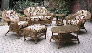 Charleston 6 Piece Outdoor Wicker Furniture Set All About Wicker