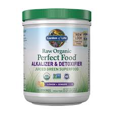 garden of life raw organic perfect food alkalizer detoxifier 9 94oz