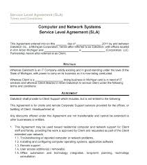 Simple Service Agreement Template Gotostudy Info
